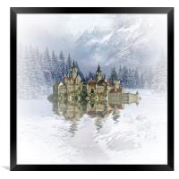 The Snow Palace, Framed Print