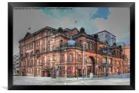 Kings Theatre Glasgow, Framed Print