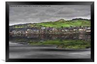 Largs Seafront, Framed Print