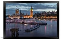 Westminster London, Framed Print