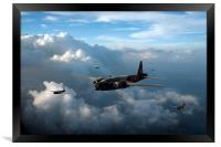 Vickers Wellingtons, Framed Print