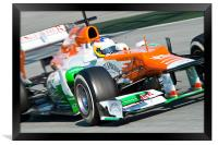Paul di Resta 2012 Spain, Framed Print