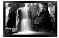 Lumsdale Waterfall, Derbyshire, Framed Print