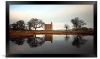 Barr Castle reflection, Framed Print