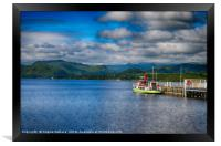 Coniston water ferry                    , Framed Print