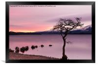 Loch Lomond Sunset, Framed Print