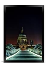 St Paul's Cathedral, Framed Print