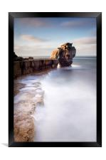 A long time standing at Pulpit Rock, Framed Print