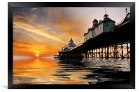 Eastbourne Pier Sunrise, Framed Print