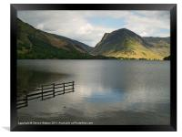 Buttermere and Fleetwith Pike., Framed Print