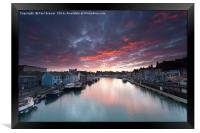 Weymouth at Sunrise, Framed Print