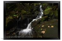 Lumsdale Falls 9.0                 , Framed Print