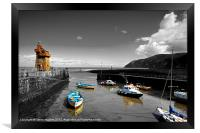 Isolations in Lynmouth North Devon, Framed Print