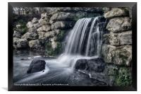 THE MOTE FALLS, Framed Print