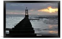 after the sun, Framed Print