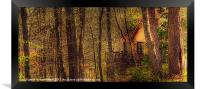 House in the Wood, Framed Print