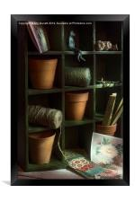 The Potting Shed, Framed Print
