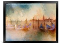 Venice Heat, Framed Print