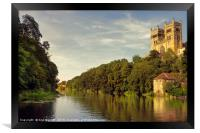Durham Cathedral on the River Wear, Framed Print