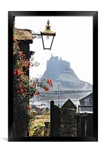 On The Way To Lindisfarne Castle, Framed Print
