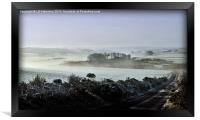 A Touch of Mist in Aberdeenshire, Framed Print