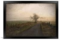 The Road Not Taken, Framed Print