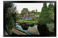 Tylers Reflected, Framed Print
