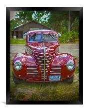 Streetrod Hear Me Roar, Framed Print