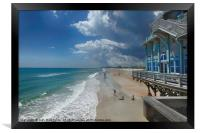 View from the Pier, Framed Print