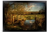 The Path to Sulham , Framed Print