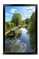 The Oxford Canal, Framed Print