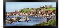 Whitbey Panorama, Framed Print