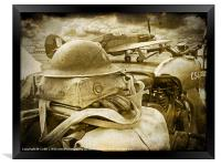 The Battle Of Britain is About to Begin - 1940, Framed Print