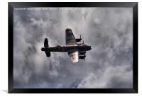 Dambusters 70 Years On - BBMF Lancaster 2, Framed Print