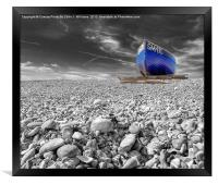 Fishing Boat - Goring By Sea, Framed Print