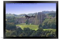 Lancaster and Lancing College Chapel , Framed Print