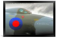 The Spirit Of Great Britain 2 - Farnborough 2014, Framed Print