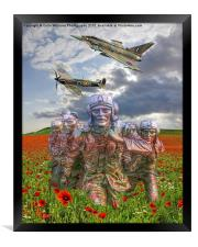 A Salute To The Few -  The Battle of Britain 75 , Framed Print