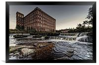 Anchor Mill, Paisley, Framed Print