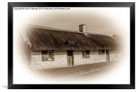 Burns Cottage , Framed Print