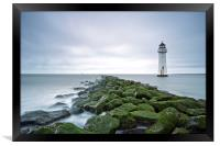 New Brighton Lighthouse (Above and Beyond), Framed Print