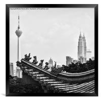 The Ancient and the Modern, Framed Print