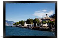 Lake Garda , Framed Print