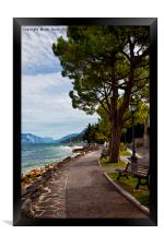 Lake Garda (2), Framed Print