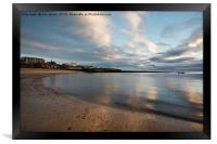 Cullercoats Bay Reflections, Framed Print