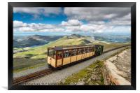 Mountain Train, Framed Print
