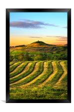 Rivington pike, Framed Print