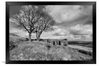 Top Withens Haworth, Framed Print