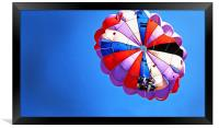 Patched up para Gliders, Framed Print