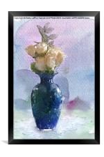 A Touch of Beauty, Framed Print